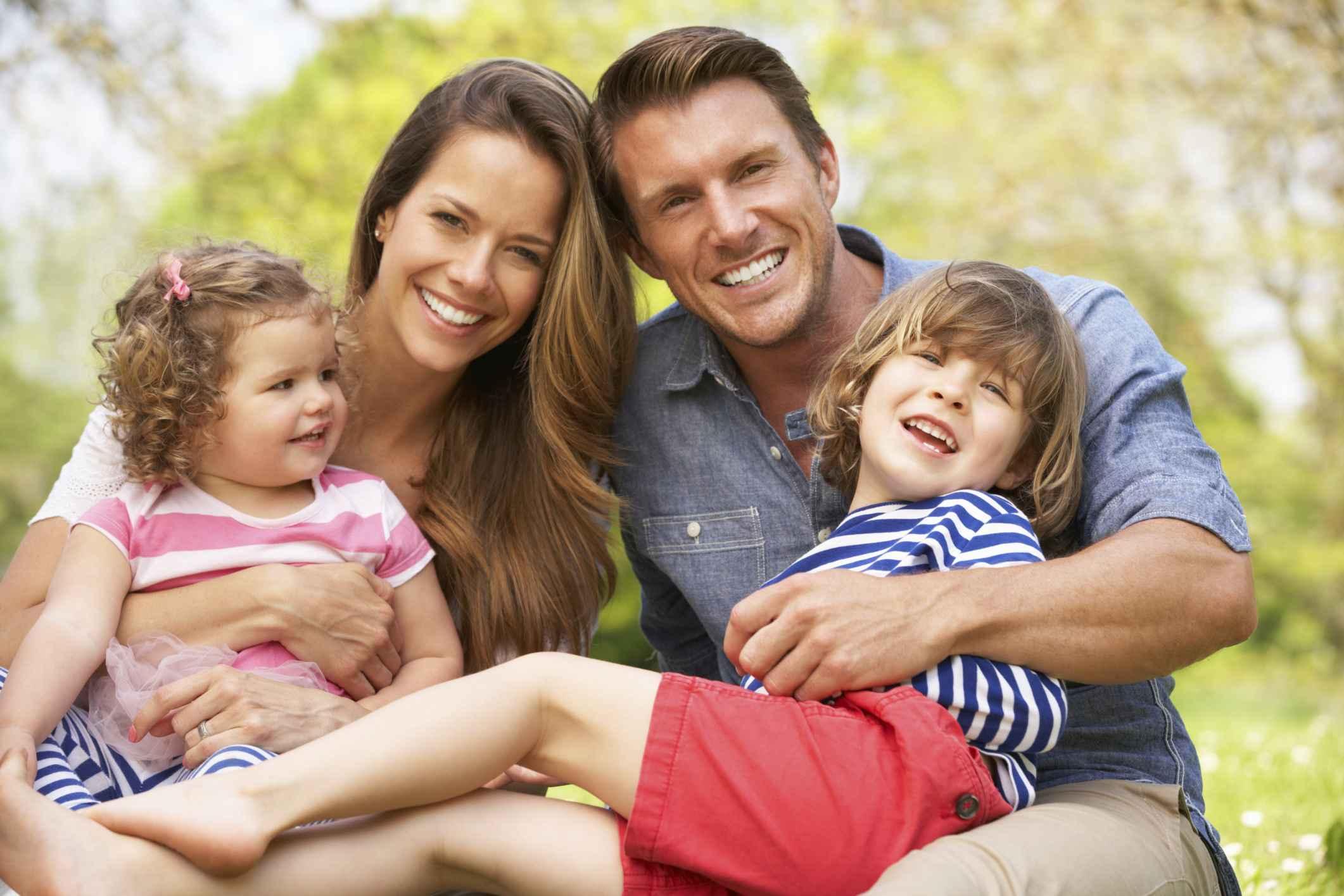 картинки фотографии счастливой семьи
