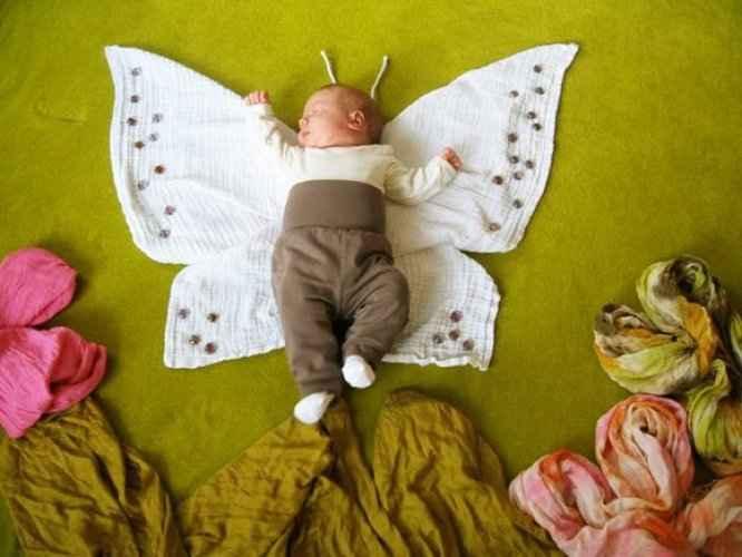 фотосессия грудничков в домашних условиях идеи фото