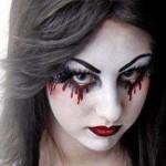 Фотосессия в стиле вампира