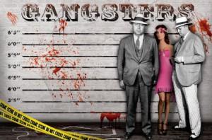 Баннер гангстерский Чикаго 30х для фотосессии