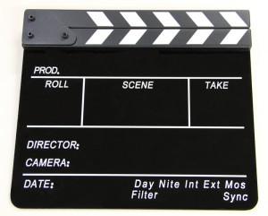 Кинохлопушка для фотосессии