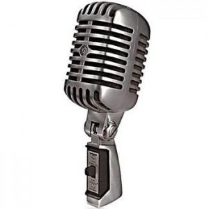 Ретро микрофон Элвис для фотосесии