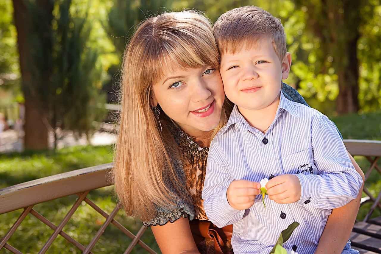 Фотосет мамы с сыном 2 фотография
