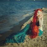 Фотосессия в стиле русалка, фотосъемка mermaid