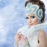 Фотосессия в стиле Снежная королева, фотосъемка the snow queen